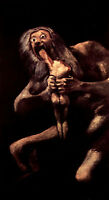 Oil painting francisco de goya - Saturn Devouring One of his Children canvas art