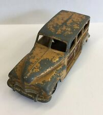 Vintage Dinky Toys Plymouth Woody Estate Car No.344 10.5cm In Length