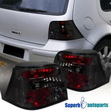 For 1999-2006 VW Golf MK4 Replacement Tail Lights Brake Lamps Smoke
