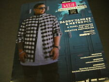 DADDY YANKEE at Latin Music Conference & Awards PROMO POSTER AD mint condition