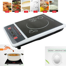 Electric 2000W Induction Cooker Portable Cooktop Burner Countertop Oven Home FDA