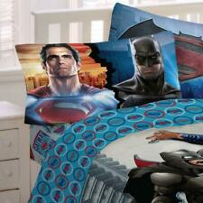 New 2pc BATMAN vs SUPERMAN TWIN SHEETS  - Kids Bedding Superheroes Bed Sheet