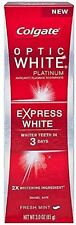 Optic White Platinum Express White Toothpaste - 3 oz (2 Pack) By Colgate