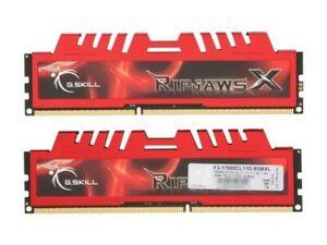 G.Skill Ripjaws DDR3 RAM 4x4GB DIMMS 2133 Bus Speed 16GB total PC3 17000