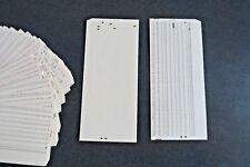 35 cartes perforées - Informatique 80 Colonnes - 35 Vintage perforated card