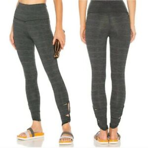 Free People Movement Revolve Legging in Green Comb Size Small