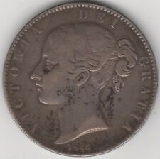 More details for 1845 victoria silver crown | pennies2pounds