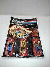 "GI Joe Slaughters Renegades 3.75"" Action Figure 1987 MOC Hasbro Vintage Carded"