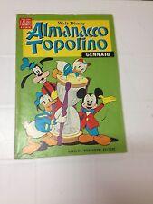 ALMANACCO TOPOLINO N.1 1969 - ALBI D'ORO - ARNOLDO MONDADORI - BUONO/OTTIMO