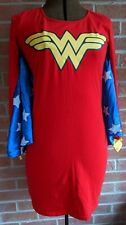 Wonder Woman Cape Adult Sexy Womens Costume Red Sheath Fancy Dress Up Rubies