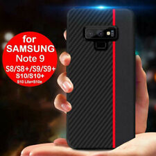 For Samsung Note 9 10 Plus 20 Ultra A51 A71 Case Carbon Fiber Protection Case