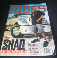 King's RIDES MAGAZINE July/August 2006 SHAQ F650 Rick Ross Cool And Dre
