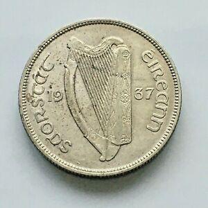 Ireland Florin 1937 very high grade and scarce