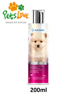200ml EUROWET | Allantoin | Almond Oil | Adds Shine Gentle SHAMPOO FOR PUPPIES