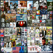 Vast Art Supply Lot! Cards, Cutouts, Stamps, Stickers, Icons: Scissor Magic #19