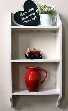 shelf for kitchen, bathroom, bedroom, shabby chic distressed finish