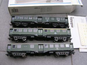 Märtklin H0 4031 + 4033 Konvolut 2 Umbauwagen OVP + 1 Roco Umbauwagen