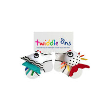 Twiddle Ons Sock Ons Foot Discovery Rattle Fish Toys - Size Up To 12 Months