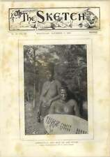 1893 King Lobengula 60-year-old And One Of His Wives Photo Captain Caldwell