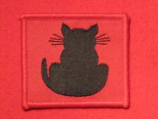 BRITISH ARMY WW2 56TH INFANTRY DIVISION FORMATION BADGE CAT LEFT FACING TAIL