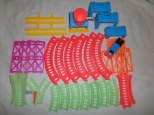 Thomas & Friends Trackmaster Hyper Glow Station Train and Tracks Parts 35pc