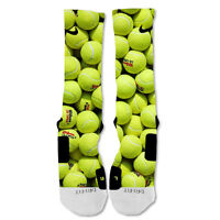 Nike Elite socks custom Tennis Balls
