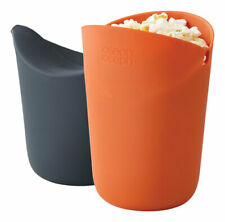 Joseph Joseph M-Cuisine Black/Orange Air Microwave Popcorn Popper