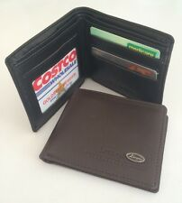 Sale! Men Leather Wallets Coin Card Money Holder Bifold Slim Purse Durable New