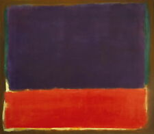 Mark Rothko Number 14 Giclee Canvas Print Paintings Poster LARGE SIZE
