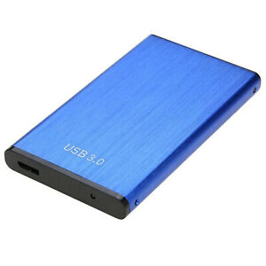 2 TB USB 3.0 Portable External Hard Drive Ultra Slim SATA Storage Device Case