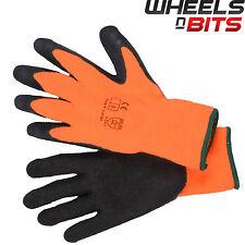 12x Taglia 10 XL Hi Vis magazzino Frigorifero/Congelatore/Termico Guanti lavoro sicurezza Grip