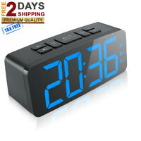 "Digital Alarm Clock, 6.3"" Large LED Display Digital Alarm Clock with Big Number"