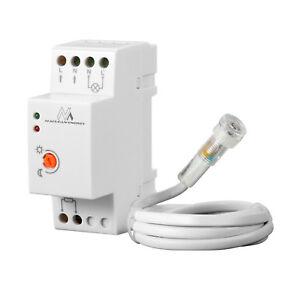 Dämmerungssensor DIN Hutschiene Sensor Sonde Verteilereinbau Dämmerungsschalter