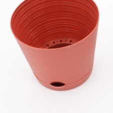Self-Watering Round Planter Pot - 6.25 inch with Spouted Saucer