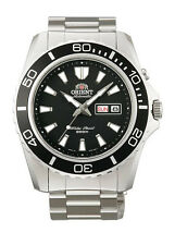 Orient FEM75001B Men's Mako XL Stainless Steel Black Dial Automatic Dive Watch