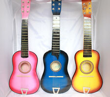 "23"" Kids Mini Guitar Toy Musical instrument Ukulele Basswood Color Children Gift"