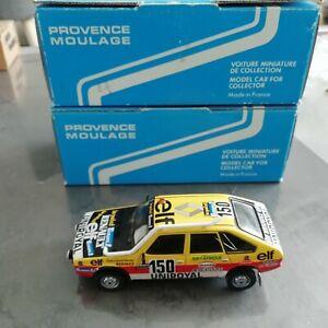 LOTS VOITURES RALLYE 1/43 RENAUL 20, PORSCHE 911 & SUBARU IMPREZA WRC