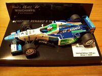 MINICHAMPS 970008 960003 960033 930006 BENETTON F1 car Berger Alesi Patrese 1:43