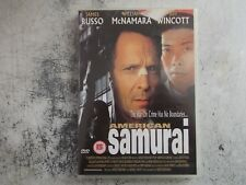 AMERICAN SAMURAI dvd.