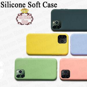 Liquid Silicone Case For iPhone 11 12 Pro Max Mini X XR XS MAX 7 8 PLUS SE