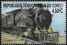 Peru Railways (ENAFER) Hunslet Locomotive #173 2-8-2 Steam Train Stamp