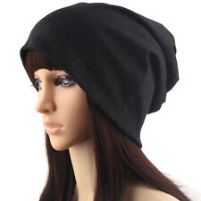 New Ladies Women Knitted Beanie Hat Head Scarf Wrap Hijab Turban Bow Bonnet Cap#