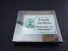 NEW FAMILY TREE MAKER Archives World Family Tree: Super Bundle V   5