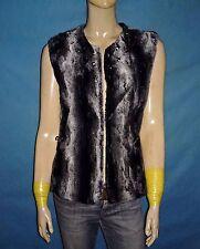 chaqueta cardigan chaleco AMY GEE piel sintética talla 38 fr nuevo con etiqueta