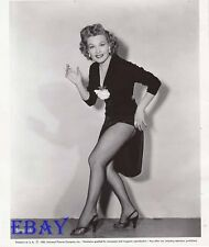 Gale Robbins fishnet stockings VINTAGE Photo Harry James