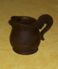 OLD FOLK ART HAND CARVED MINI WOODEN WOOD TREEN PITCHER MEASURE JIGGER PRIMITIVE
