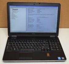Dell Latitude E6540 2.8GHz Intel Core i7-4810MQ 16GB RAM NO HDD Has Battery