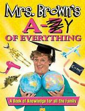 Mrs. Brown's A to Y of Everything, O'Carroll, Brendan, New Book