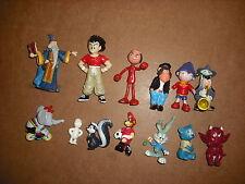 lot de 13 Figurines diverses - lot 2 - Dragon ball disney droopy ...
