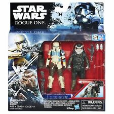 STAR WARS ROGUE ONE: SHORETROOPER CAPTAIN and BISTAN